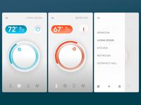 Smart Home App - Settings