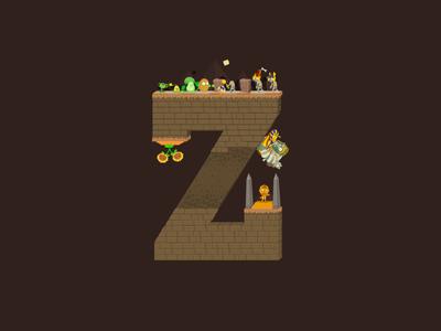 36 Days of Type Plants vs Zombies Z