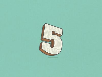 36 Days of Type Wood 5