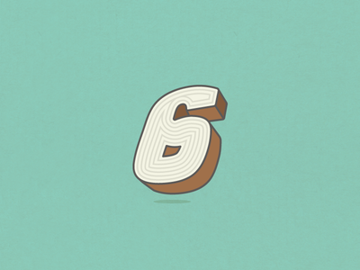 36 Days of Type Wood 6