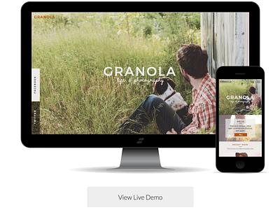 Featured Website Template | Showit 5 showit website web branding design
