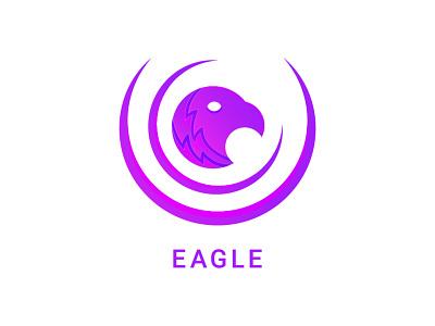 Eagle Logo app logo logo inspiration minimal logo maker animal bird eagle company modern mark art logotype creative clean identity branding vector illustration design logo