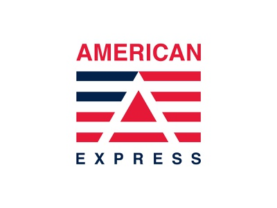 American Express - Logo Redesign famous brand logo app logo simple business usa american express creative type minimal modern clean icon mark logotype identity branding vector illustration logo design