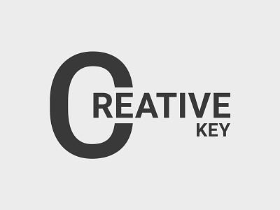 Creative Key Logo web app agency studio key creative logo design business logo typography modern company art creative logotype icon identity branding vector illustration logo design