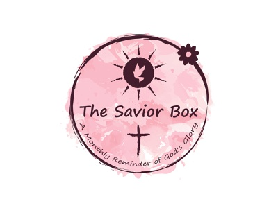 The Savior Box Logo christian logos symbols christian logos images watercolor logo artistic app logo christian logo god ecommerce business logo art company creative logotype icon identity branding vector illustration logo design