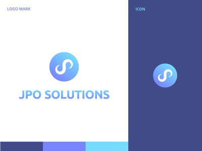 Jpo Solutions business logo design logoexpose company illustration clean type logotype design agency creative mark art idenity icon app app icon vector branding logo