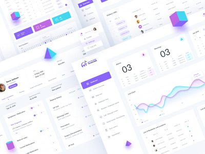 Wytcote Technologies Webapp Dashboard UI webapp web ux ui typography trendy interface design dashboard color clean app 3d 2019