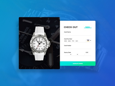 Daily UI - Check Out 002