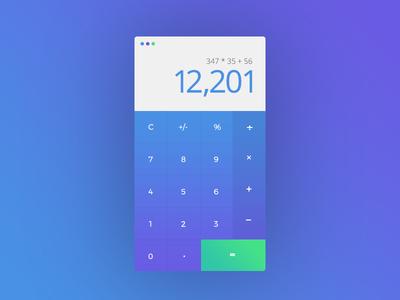 Daily UI - Calculator 004