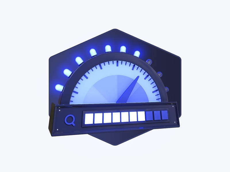 Search Relevance accuracy measure light design machine relevance search algolia c4d 3d illustration