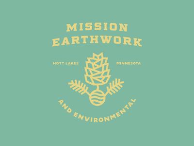 Mission Earthwork logo concept
