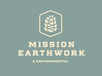 Mission Earthwork logo concept #2