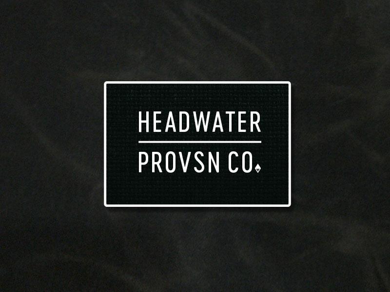 Headwater branding exploration logo design vector graphic illustration duluth vintage branding graphic design minnesota badge logo