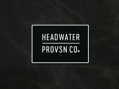 Headwater branding exploration