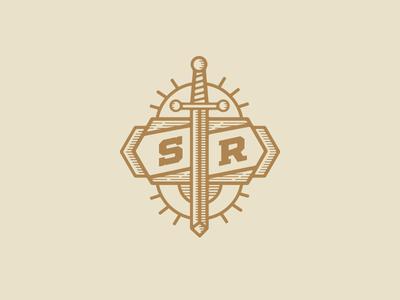 Sword badge