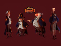 The Admiral Snoops