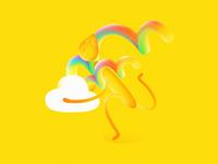 It's a double rainbow!