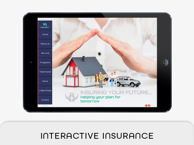 Insurance Agency Template portrait e-magazine multpurpose proposal live navigation live button life insurance ipad airretina interactive proposal interactive insurance pdf insurance company insurance agency indesign