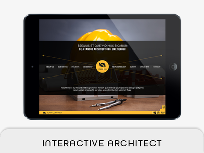 Architect Interactive Profile ebook corporate e-magazine e-book e-architect e profile constructor builder architecture company architecture architect profile architect agency architect