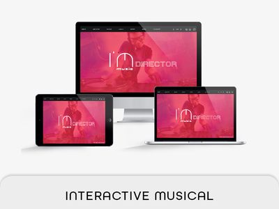 Interactive Musical Template live navigation live button ipad airretina interactive music pdf interactive brochure indesign hyperlink e-brochure e-book corporate clean audio video interactive