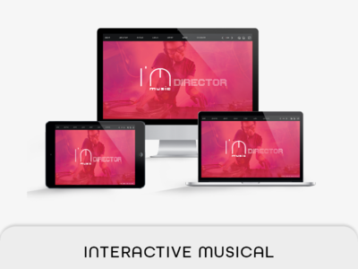 Interactive Musical Template live navigation live button ipad airretina interactive music pdf interactive brochure indesign hyperlink e-brochure e-book corporate clean audio video interactive