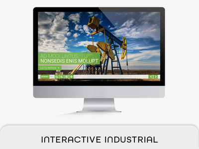 Interactive Industrial PDF Magazine industry brochure interactive pdf indesign hyperlink fashion e-magazine e-brochure e-book proposal e-book digital magazine button pdf 2560x1440 px