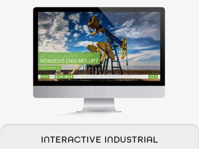Interactive Industrial PDF Magazine industry brochure interactive pdf indesign hyperlink fashion e-magazine e-brochure e-book proposal e-book digital magazine button pdf 2560x1440 px