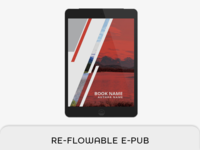 Reflowable Epub & Book Template