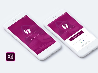 Shoe e-commerce App with Prototype & Wireframe