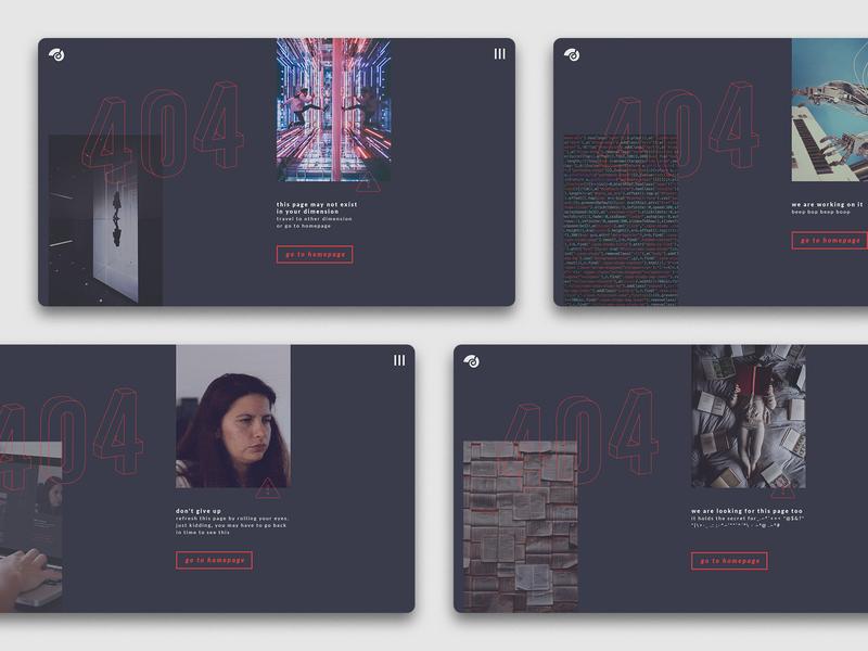 404 Pages sketch app web ux ui design interface brand identity webdesign 404 404 page website ux ui