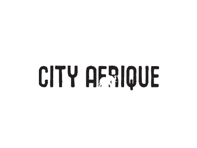 City Afrique logo design restaurant local minneapolis minnesota