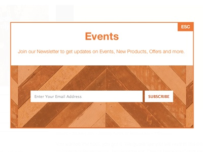 Events Overlay events overlay email newsletter sign up form esc minnesota minneapolis subscribe