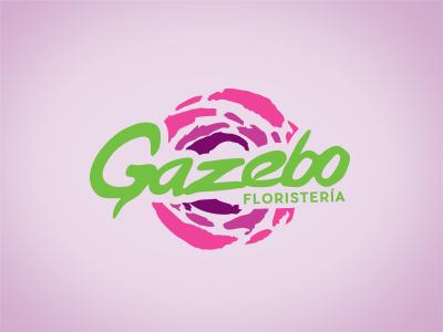 GAZEBO graden floriculture bouquets shop paint rose beauty flower florist