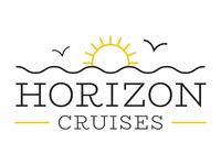 Horizon Cruises Logo Concept