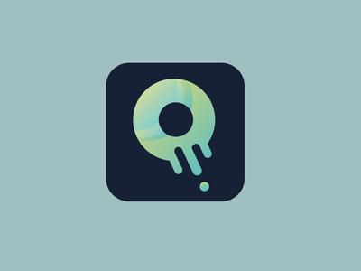Food Delivery App Icon logo ux flat app icon design ui
