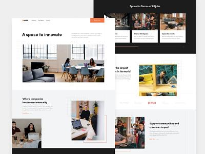Cwork coworkers agency workspace remote design office website innovate work space coworking space coworking