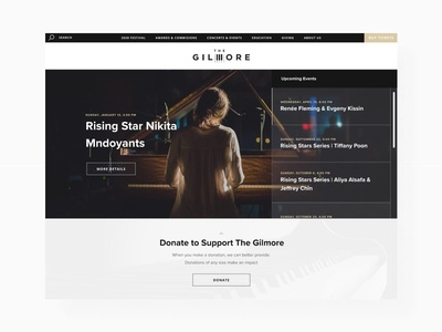 The Gilmore - Homepage