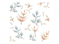 Nature leaves pattern