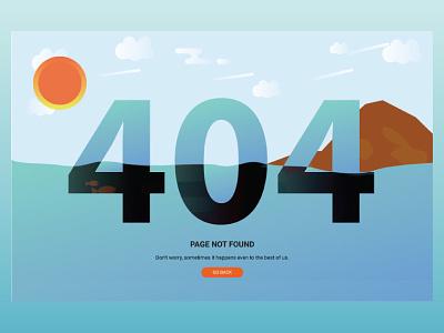 Error 404 page web layout error 404 illustration