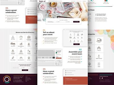 WIP: Landing Page web applications uiux design ux design web design user interface