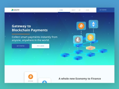 WIP: Landing page design web app landing page crypto design desktop uiux