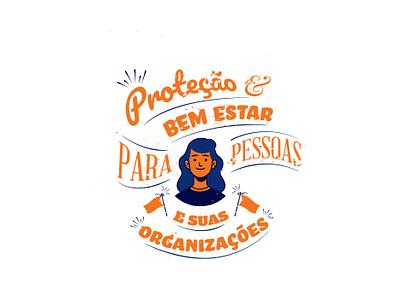 Sulamerica adobe illustrator brazil texture type diseno latin composition orange blue branding design vernacular typography vector duotones art direction graphic design color illustration