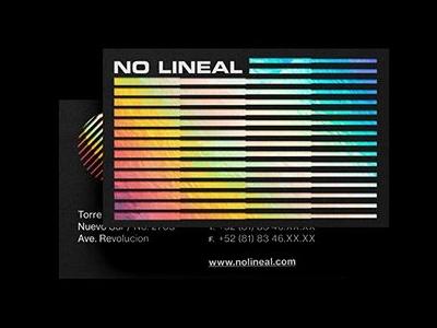 No_Lineal_Buisness_Card
