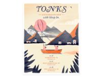 Tonks Tour Poster
