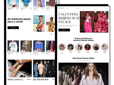 E-commerce for luxury fashion brands brutalism brutalist e-commerce clothing fashion product ecommerce design webdesign web ux ui