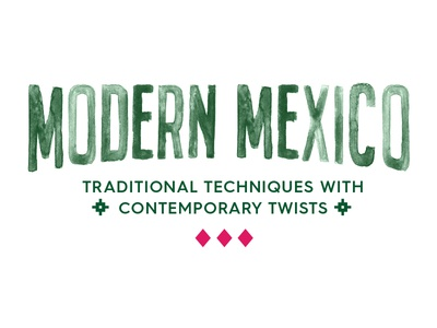 Modern Mexico Typography