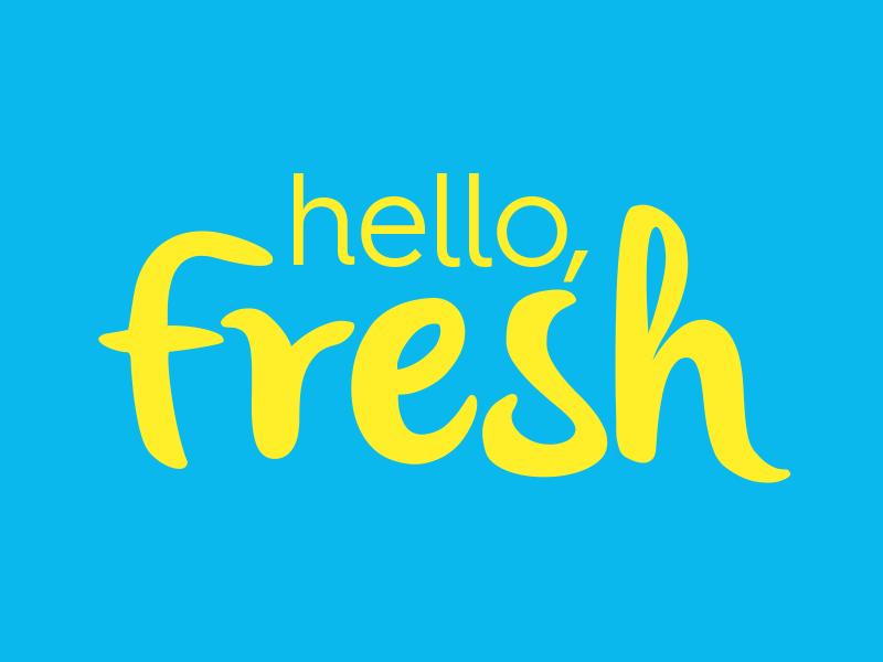 Fresh Oliver illustration branding logo design