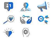 USA TODAY Brand Positioning Icons