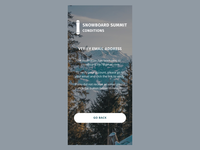Snowboard Summit Conditions - Verify Account