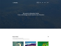 myParallax - Single Page WordPress Theme
